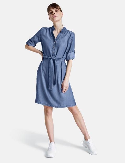 taifun - Jeanskleid aus softem Lyocell Blau 46/L