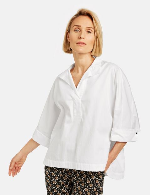 Bluzka oversize Biały 38/S Gerry Weber 4058425902030