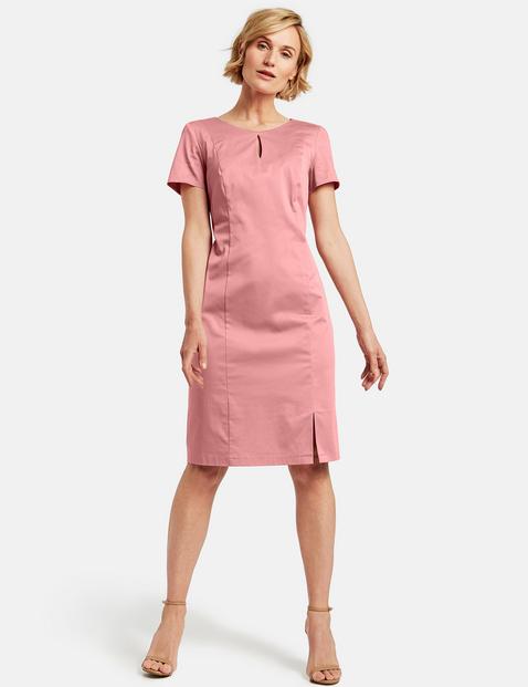 gerry weber - Etuikleid aus stretchiger Baumwolle Pink 40/M