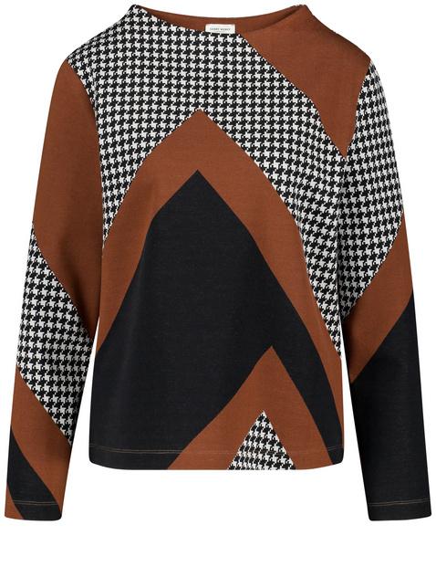Bluza w patchworkowym stylu Multicolor 46/L Gerry Weber 4058425926081