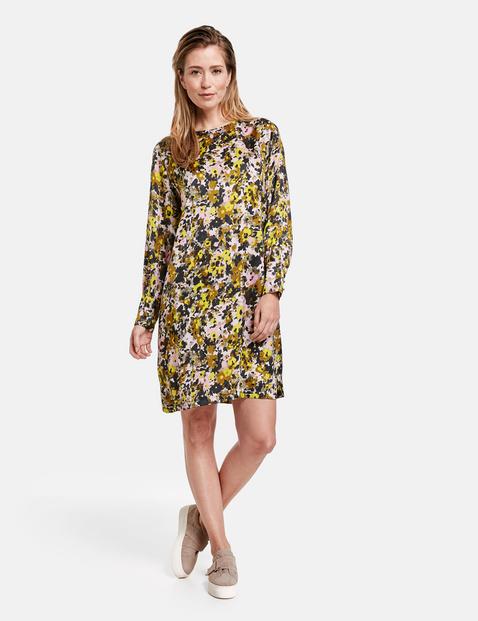gerry weber - Kleid mit Blumenmuster Mehrfarbig 48/XL