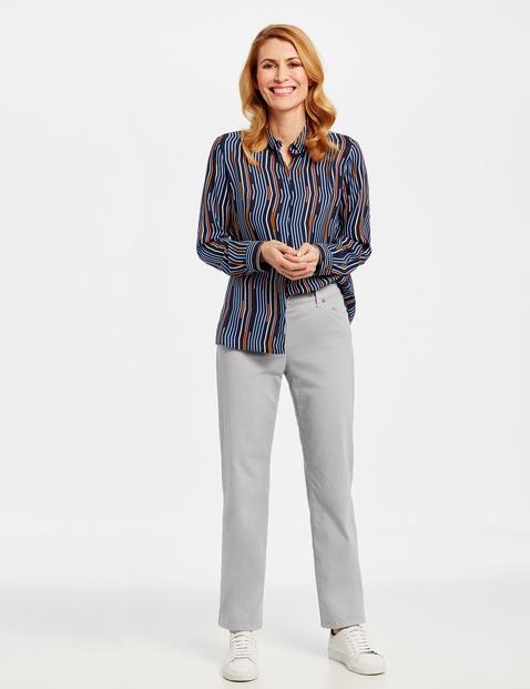 5-Pocket Jeans Comfort Fit Danny Kurzgröße Grau 38/S