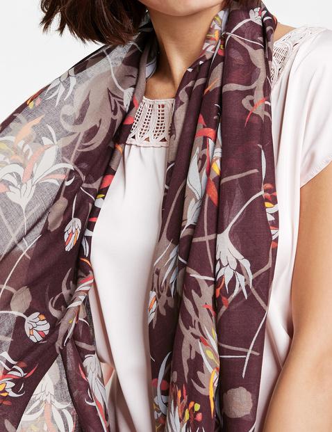 Schal mit Floral-Print