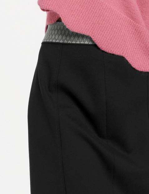Spódnica ołówkowa z jerseyu