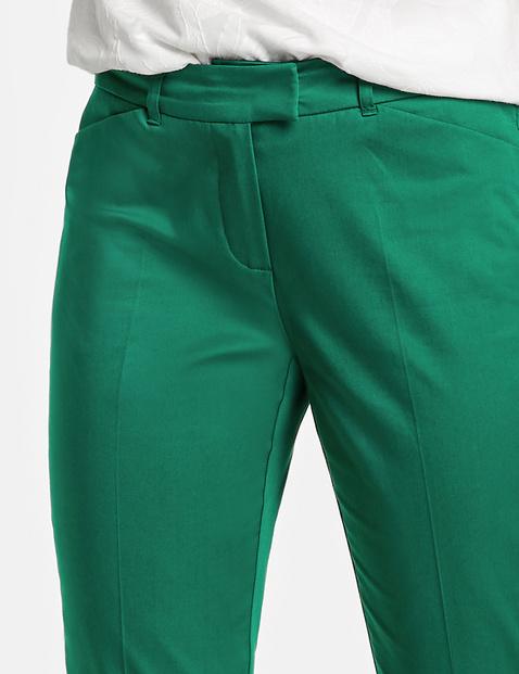 7/8-broek met langere achterzijde Slim Peg Leg