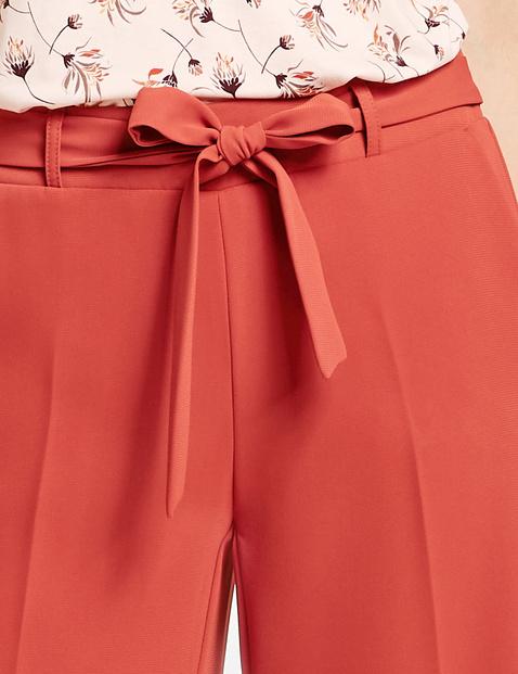 Spodnie w stylu paperbag, Wide Leg High