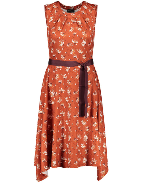 Summer dress with an all-over print
