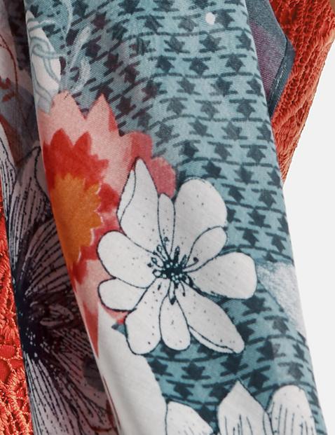 Tuch mit Blumen-Print
