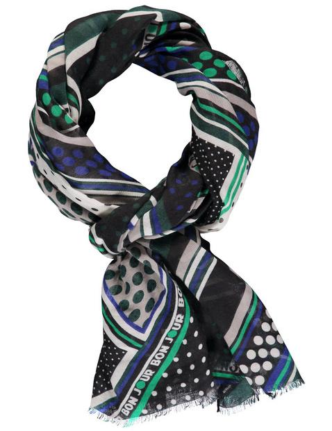 Sjaal met motiefmix