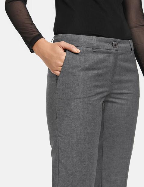 Eleganckie spodnie z mieszanki wełnianej