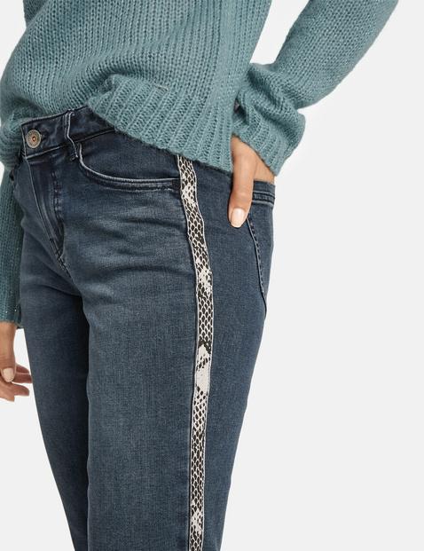 Jeans met streep opzij Super Skinny TS