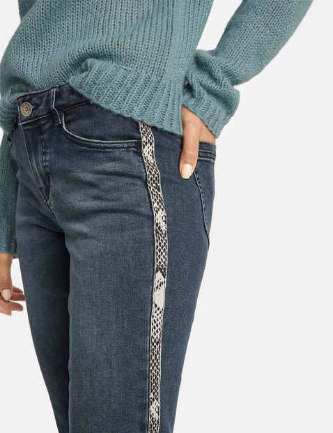 Jeans with side stripes, Super Skinny TS