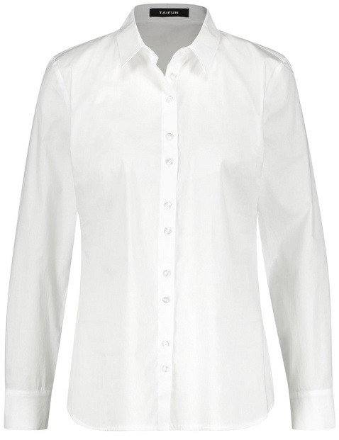 Klassieke katoenen blouse