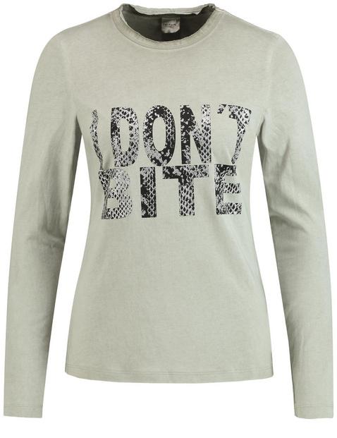 Koszulka z bawełny z napisem