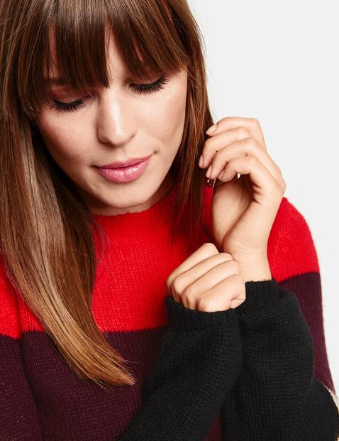 Pullover im Colorblocking-Design