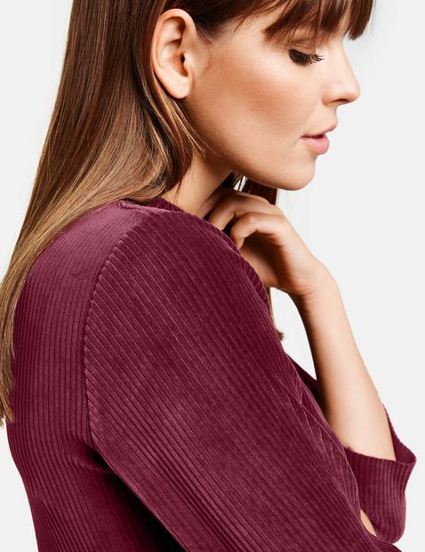 Kleid aus weichem Jersey-Cord