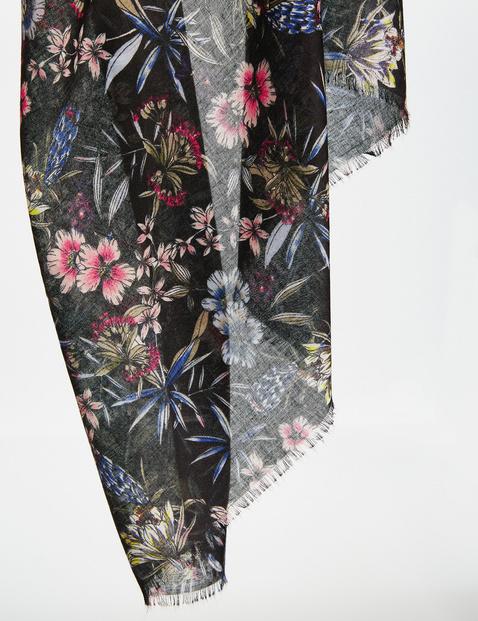 Sjaal met florale print