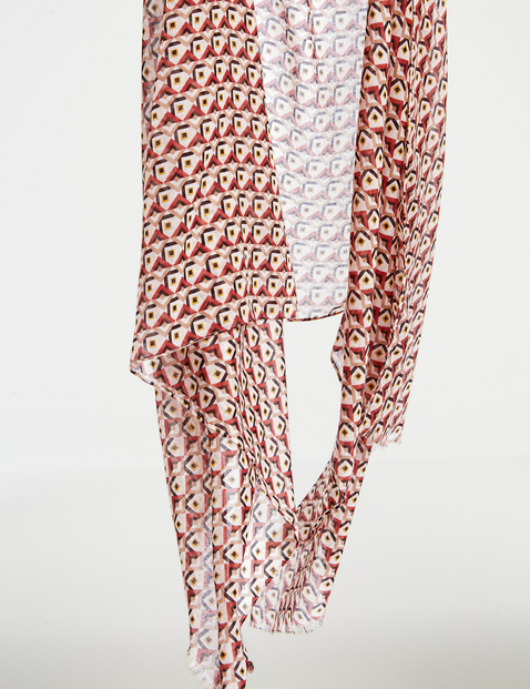 Scarf with an all-over print