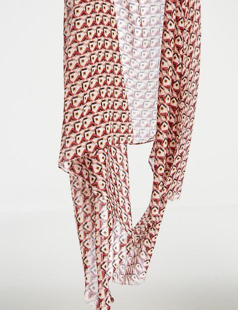 Sjaal met print all-over