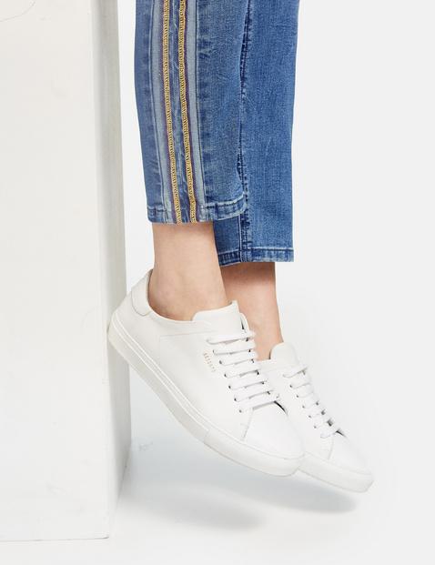 Jeans mit Kontrastnaht Skinny TS