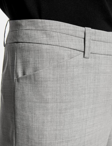 Hose Straight aus Schurwolle