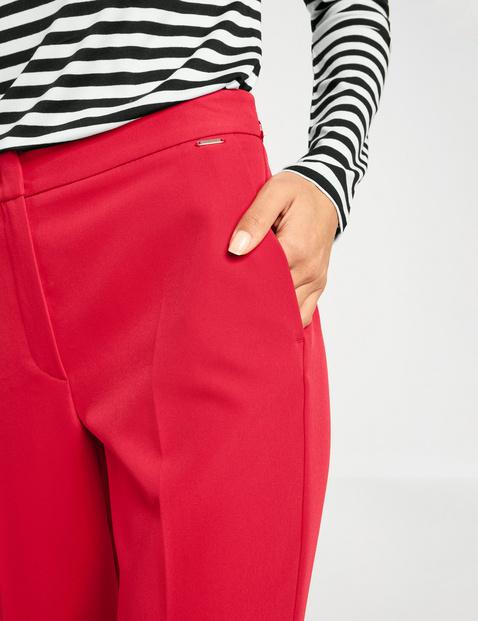 Elegant, high, wide-leg Marlene trousers