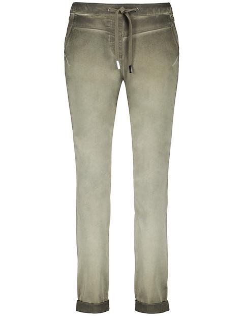 7/8 lounge pants met cold pigment dye