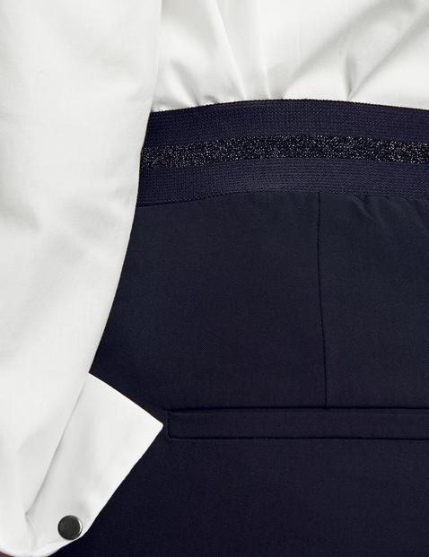 Elastyczne spodnie o dł. 7/8 Skinny High