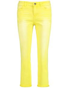 Damen Sommer Hose Gerades Bein   Rosa Orange   40