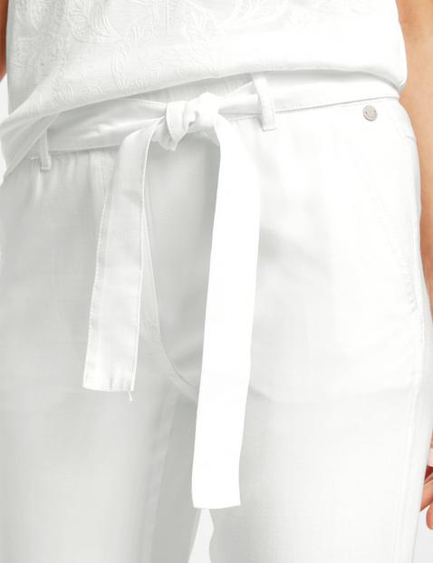 Spodnie Lounge Pants TS z wiązanym paskiem