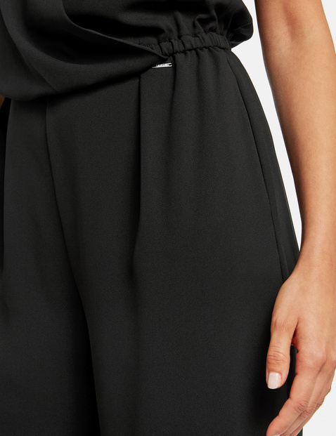 Jumpsuit with a wrap effect