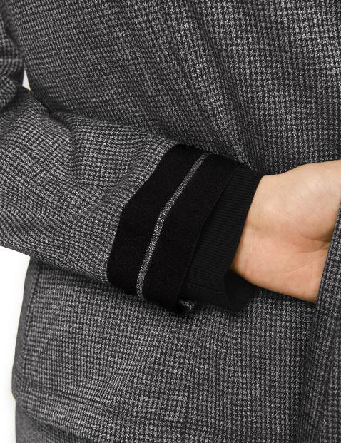 Blazer with fine lurex details