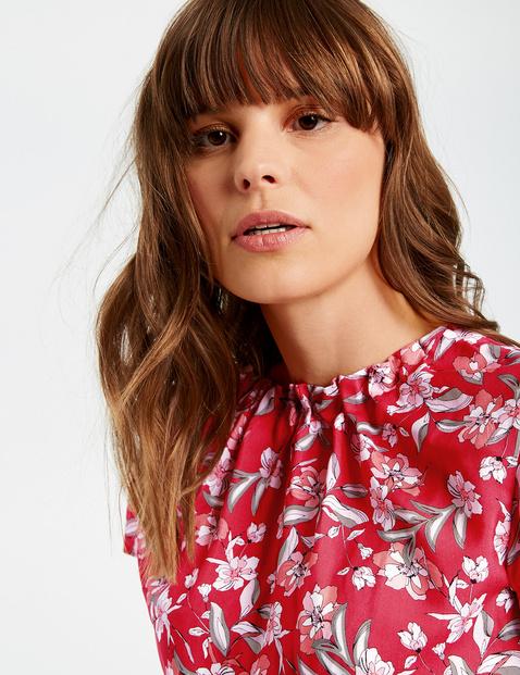 Blouseachtig shirt met bloemenprint