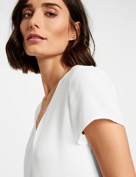Blusenshirt mit kurzem Arm