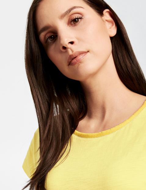 Shirt met korte mouwen van organic cotton