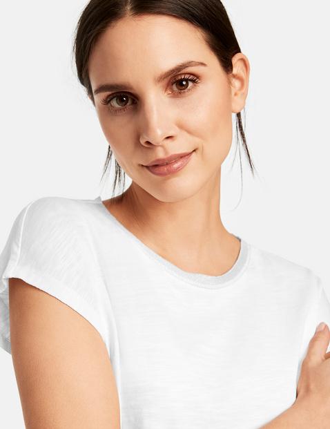 1/2-sleeve organic cotton top