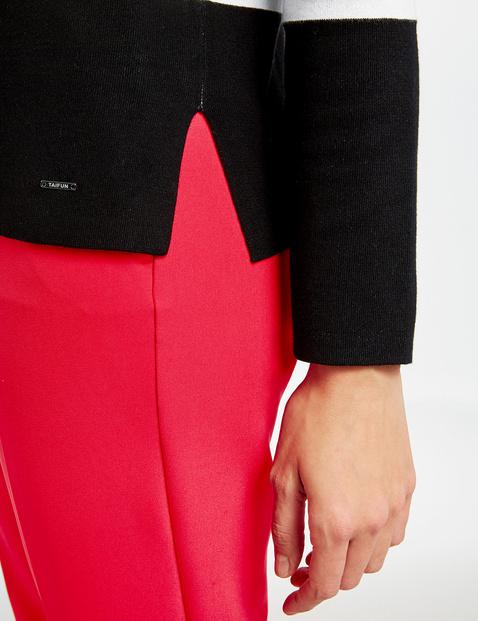 Pullover im Blockstreifen-Design