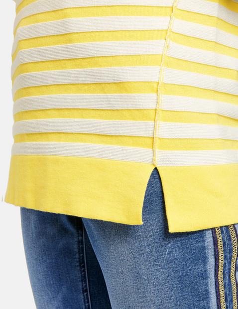 Pullover mit Ringel-Struktur
