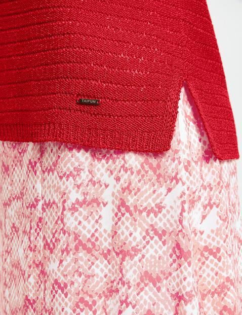 3/4 Arm Pullover im Streifen-Design
