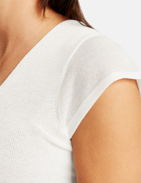 Lichte trui met korte mouwen