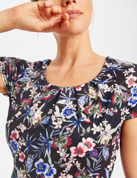 Jurk met florale print