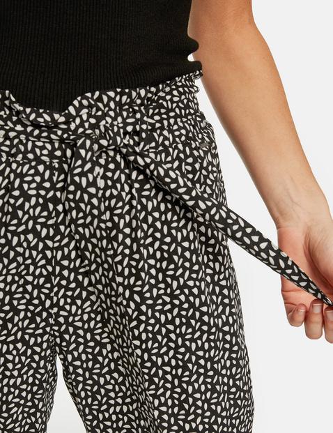 Lounge Pants TS mit Bindegürtel