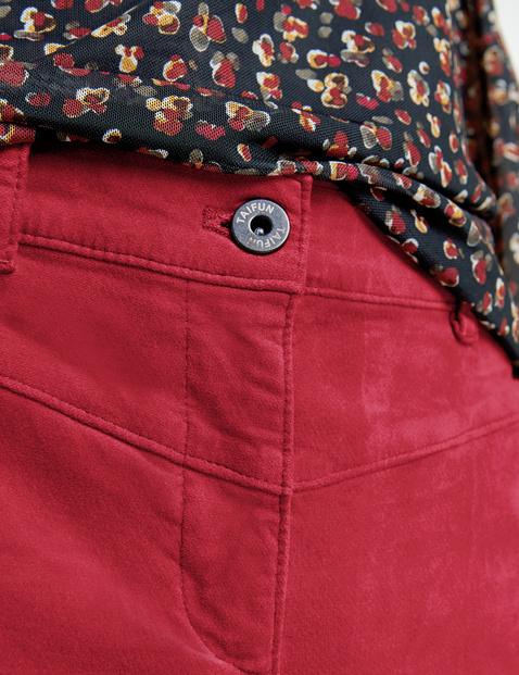 7/8 velvet trousers, Peg Leg TS