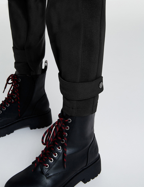 Utility-look trousers