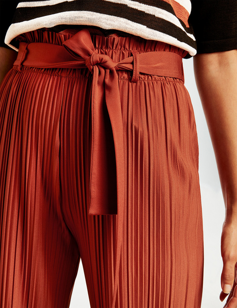 Culottes with pleats