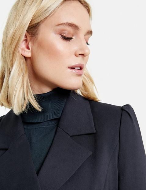 Blazer in a feminine uniform style