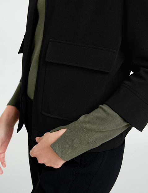 Open-fronted blazer
