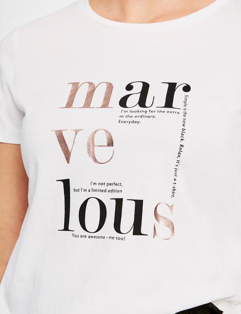 Koszulka z przekazem, bawełna organiczna