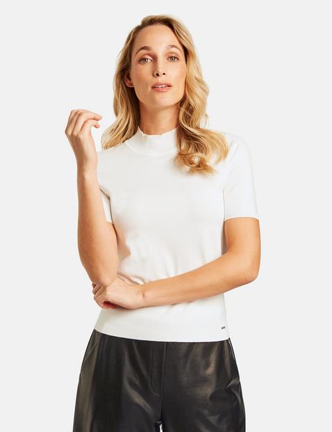 1/2 Arm Pullover mit Turtleneck