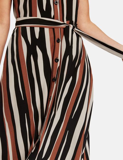 Summer dress in a striped design